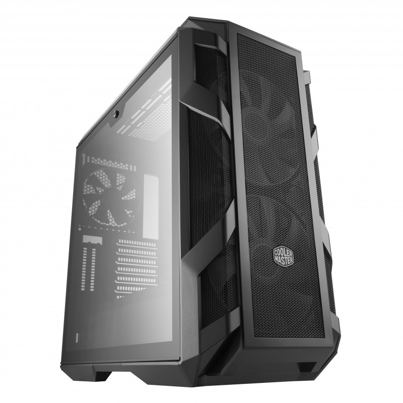 cooler master mastercase h500m bo tier midi tour gris unit centrale. Black Bedroom Furniture Sets. Home Design Ideas